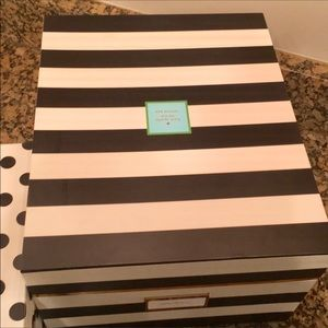 Beau Kate Spade Other   Kate Spade Storage Box Set
